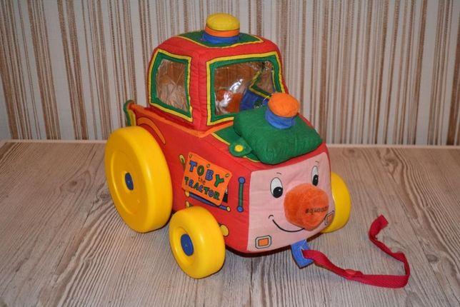 Каталочка Трактор Машинка Toby Tractor музыкальный Boots