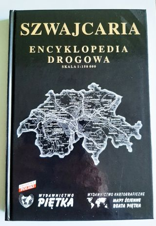 Szwajcaria Encyklopedia Drogowa oprawa twarda ideal