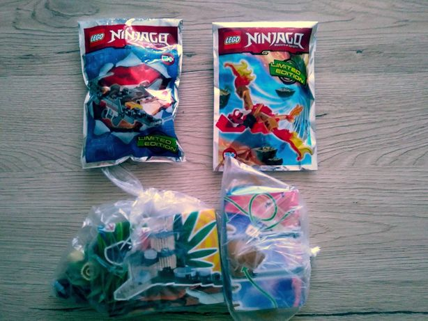 Mini zestawy Lego Ninjago - 4 sztuki