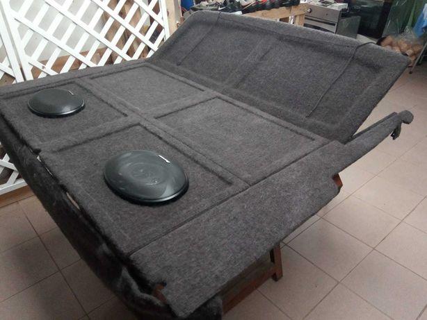 Tapa-bagageira para Renualt Clio 1 (2 lugares) com colunas Pioneer
