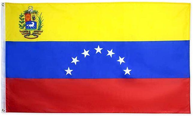 bandeira Venezuela 7 estrelas