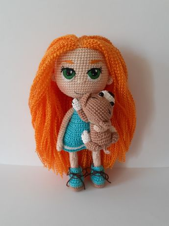 Кукла Вязаная игрушка Ручная работа