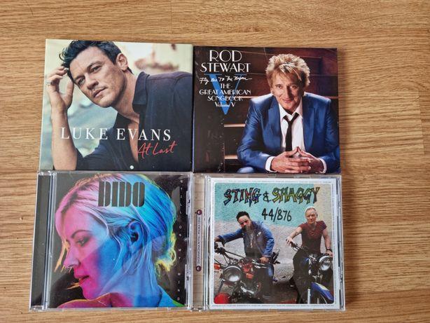 Płyty CD-Dido,Luke Evans,Rod Stewart,Sting