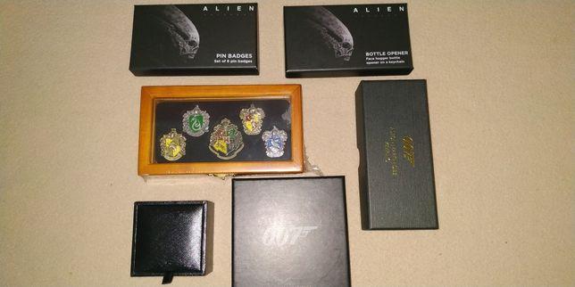 Artigos de coleção - 007/Alien/Harry Potter
