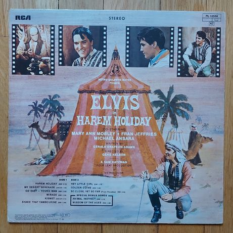 Elvis Presley, Harem Holiday, germany, bdb+
