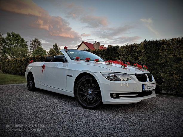 Samochód do Ślubu BMW E93 Cabrio