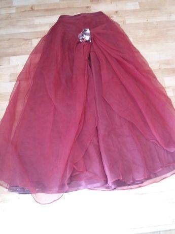 (47) długa suknia spódnica 36 38