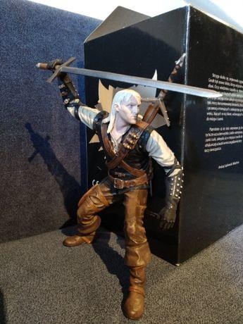 Wiedźmin - oficjalna figurka Geralta z 2007 roku   IDEAŁ + PUDEŁKO