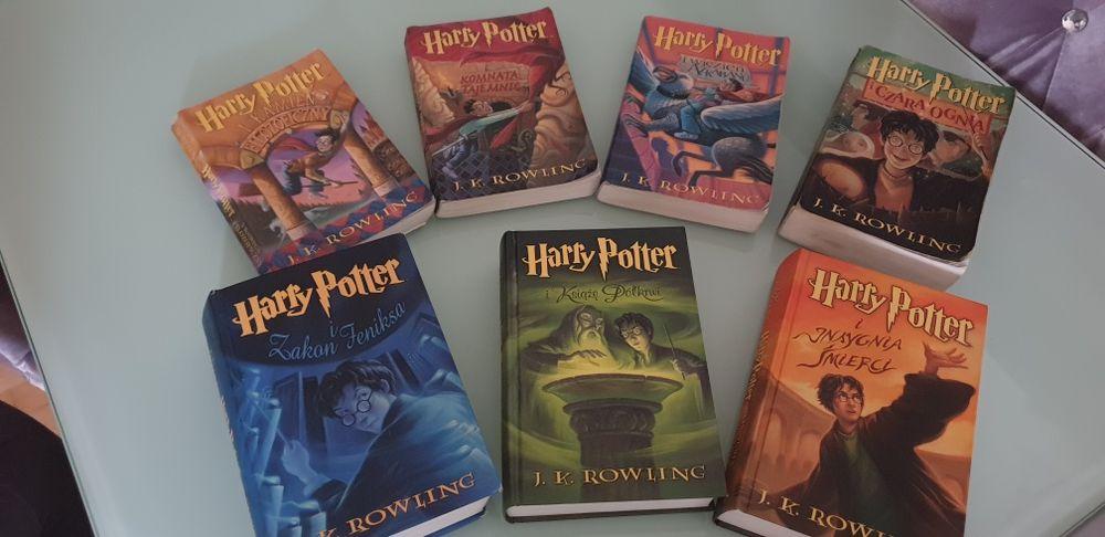 Harry Potter stare wydanie 7 części seria Jabłonna - image 1