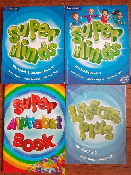 Английский 1 и 3 класс Super Minds - 200 грн