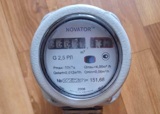 Газовий лічильник роторний Новатор РЛ G2.5