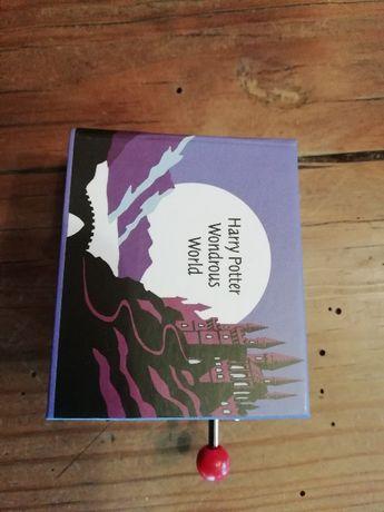 Caixa música manual Harry Potter - Mundo maravilhoso