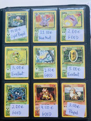 Cartas Pokemon - Base Set 1a edição