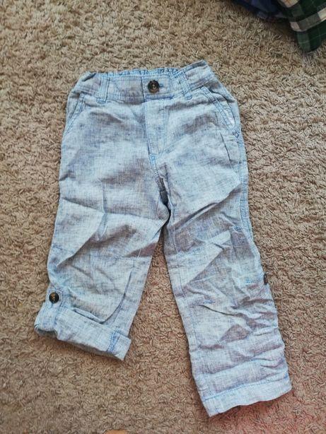 Spodenki spodnie chłopięce