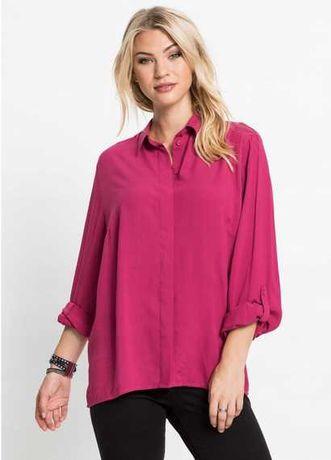25) Bluzka koszulowa z długim rękawem 46 NOWA