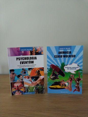 """Książki """"Animacja czasu wolnego"""" i """"Psychologia eventów"""""""