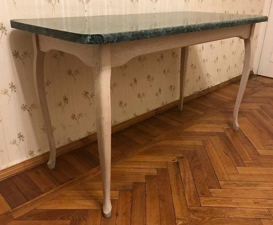 Стол Италия 130х60 дерево / для кухни, гостиной/ в хорошем состоянии