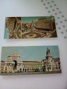 21 postais antigos tam. 22x11 parte de Portugal, bonitos