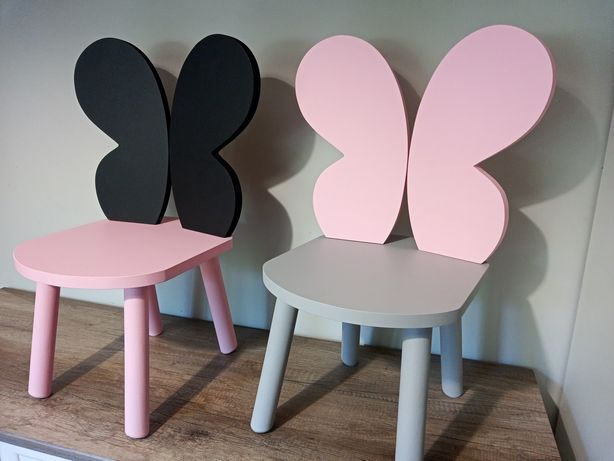 Stolik + krzesełko dla dzieci motylek