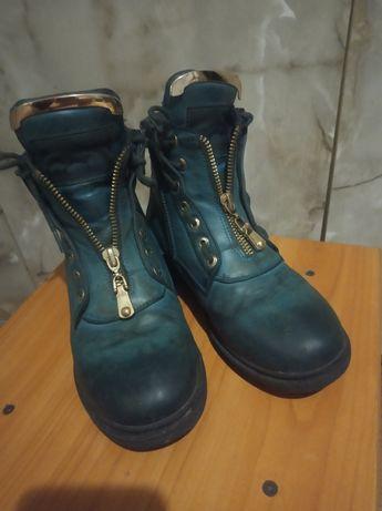 Ботиночки шкіряні