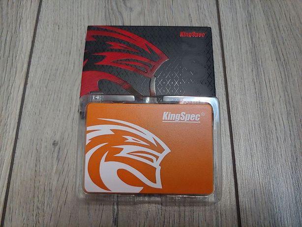Kingspec SSD 128gb NEW для игрового пк+sata кабель в подарок,ссд диск