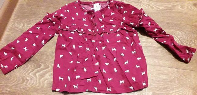 Блузка на девочку carters