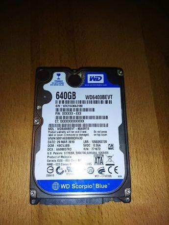 Жесткий диск HDD 2.5 для ноутбука WD 640Gb