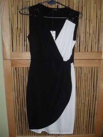 Suknia, sukienka Morgan asymetryczne połączenie