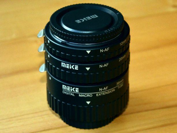 Pierścienie pośrednie Makro AF MEIKE Nikon