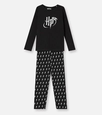 Пижама раздельная Гарри Поттер, чистый хлопок, унисекс 116-128 см