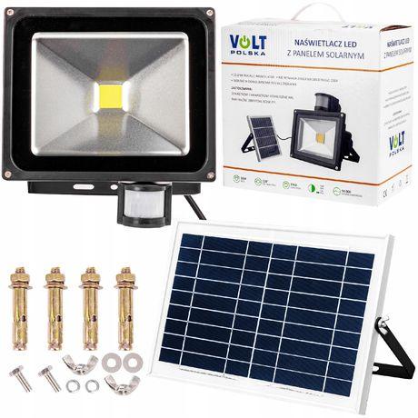 Lampa solarna panel naświetlacz led halogen 30W (SOL53)