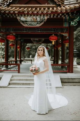 Przepiękna Suknia Ślubna Pronovias Ankara