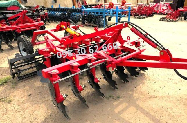 Дискова борона БДН(П)-2.4 напівпричіпна варіант для трактора МТЗ