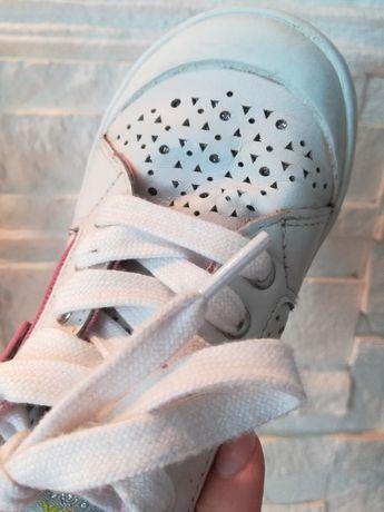 Trampki adidasy Geox białe, rozm.27-stan idealny