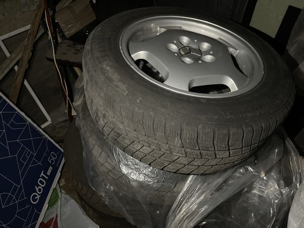 Диски Mercedes R16 с резиной
