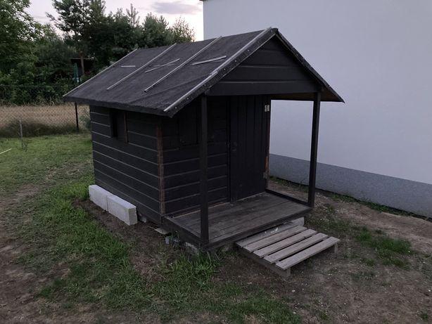 Domek ogrodowy drewniany dla dzieci