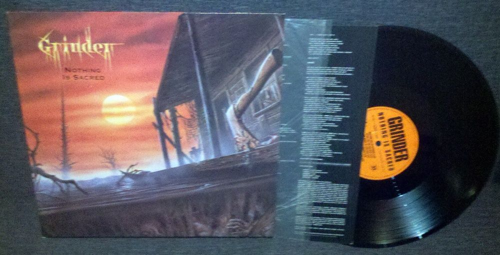 Grinder – Nothing Is Sacred LP Thrash Винница - изображение 1