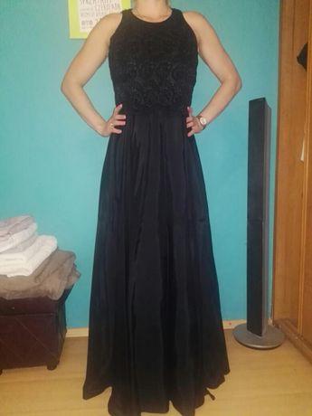 Czarna długa suknia OPERA at Richards