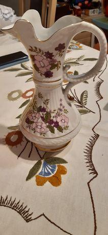 Dzbanek porcelana Chiodzież złocenia 20 cm
