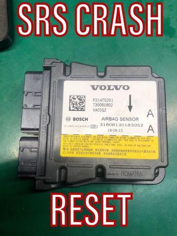 Volvo V60 S60 XC40 SRS CRASH Data Reset Naprawa programowanie