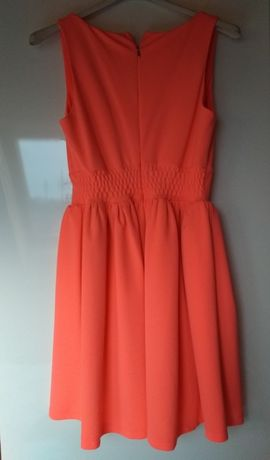 Sukienka róż neon r. 36
