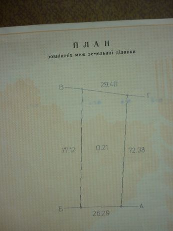 Продам участок с.Кривуши, Кременчуг