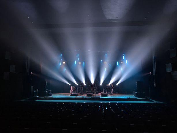 Техническое обеспечение концертов. Звук, свет, сцена, led-экран