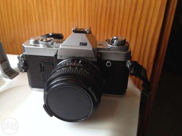 *Promoção* Máquina porst cr-5 + lente porst 50mm 1.6 x-m umc