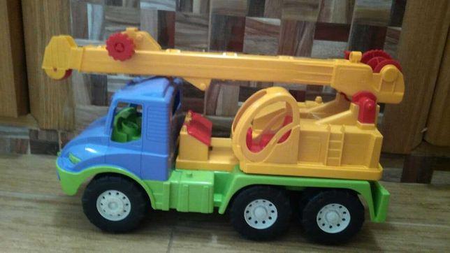 Машинка Кран игрушка