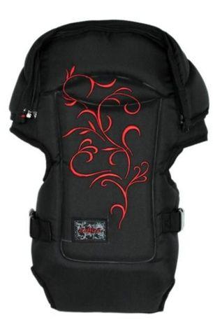 Nosidełko, nosidło typu plecak Womar Zaffiro z haftem