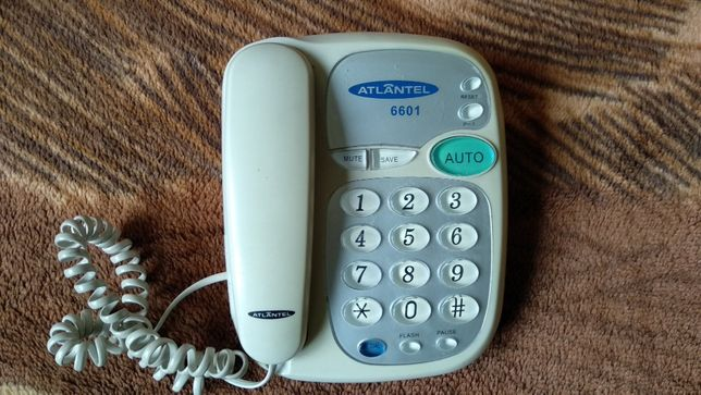 TELEFON STACJONARNY - dla starszych osób