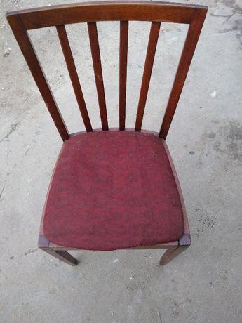 Krzesło wiśnia lata 70