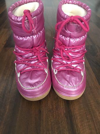 Śniegowce rózowe moon boot 32