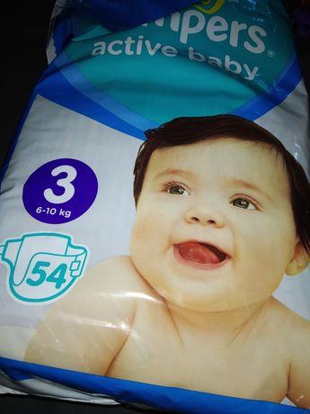 Памперси Pampers Active baby 3 (54)